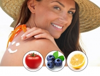 skin sun burn protection Dr Rath Research fruits